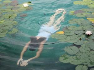 az úszás népszerű