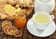 megfázás - méz, tea, citrom