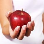 Alma a vitaminforrás