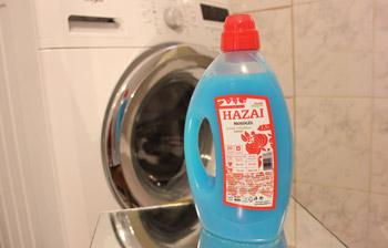 Hazai mosógél