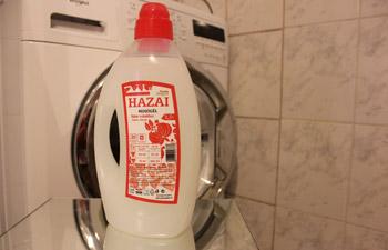 Hazai mosógél fehér ruhákhoz